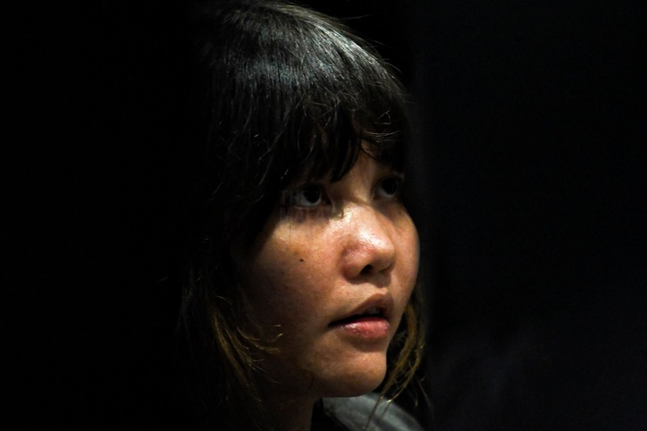 Vietnamese suspect Doan Thi Huong at klia2 during the second open court visit since her trial began on October 9. – The Malaysian Insight pic by Seth Akmal, October 24, 2017.